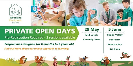 Woodland Repulse Bay Montessori Private Open Day tickets