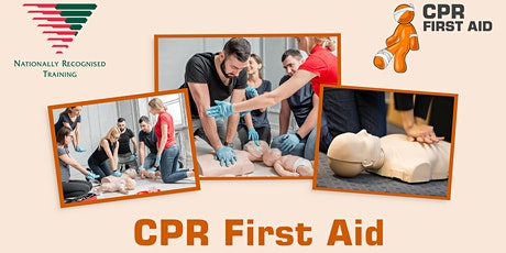 HLTAID009 (HLTAID001) Full CPR Refresher 2.5hrs (no online theory) tickets