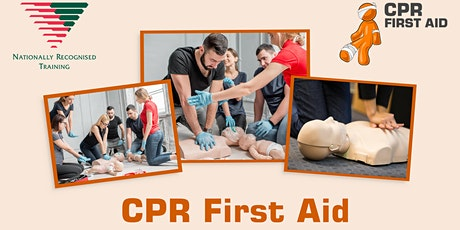 HLTAID011 (HLTAID003) Full Day First Aid 6hrs (no online theory) tickets