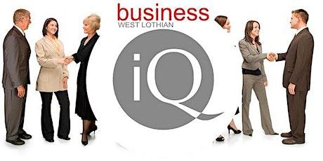 Business IQ West Lothian ONLINE 4th June 2021 tickets