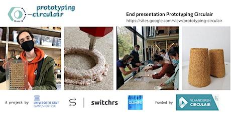 End presentations, prototyping circulair tickets
