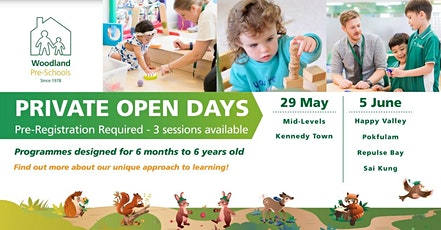 Woodland Happy Valley (Main Campus) Open Day tickets