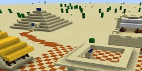 ZUSATZTERMIN! Papa-Kind Workshop - Minecraft - Reise nach Ägypten tickets