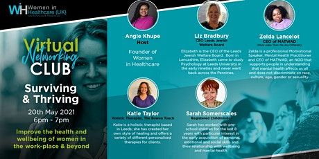 Surviving & Thriving - Women in Healthcare Virtual Networking Event tickets