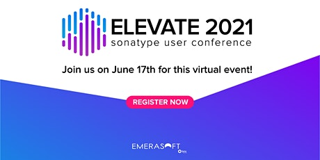 ELEVATE - Sonatype User Conference biglietti