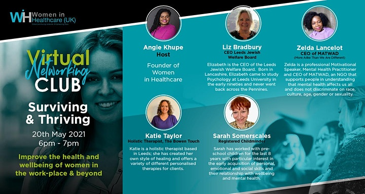 Surviving & Thriving - Women in Healthcare Virtual Networking Event image