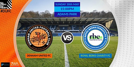 Denham United vs Royal Berks Charity FC (Game for NHS) tickets