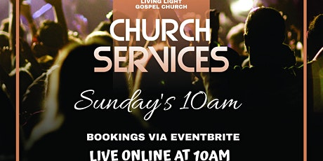Living Light - 10am Sunday Service tickets