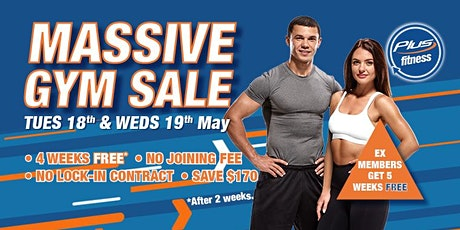 Plus Fitness Bass Hill BIGGEST EVER GYM SALE tickets