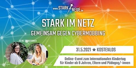 Stark im Netz - gemeinsam gegen Cybermobbing mit Manuela+Julia in Arnsberg Tickets