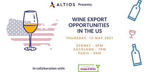 TEST Wine Export Opportunities in the US biglietti