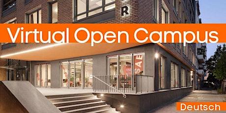 Virtueller Tag der offenen Tür Tickets