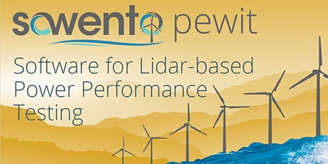 pewit introduction workshop: software for power performance testing tickets