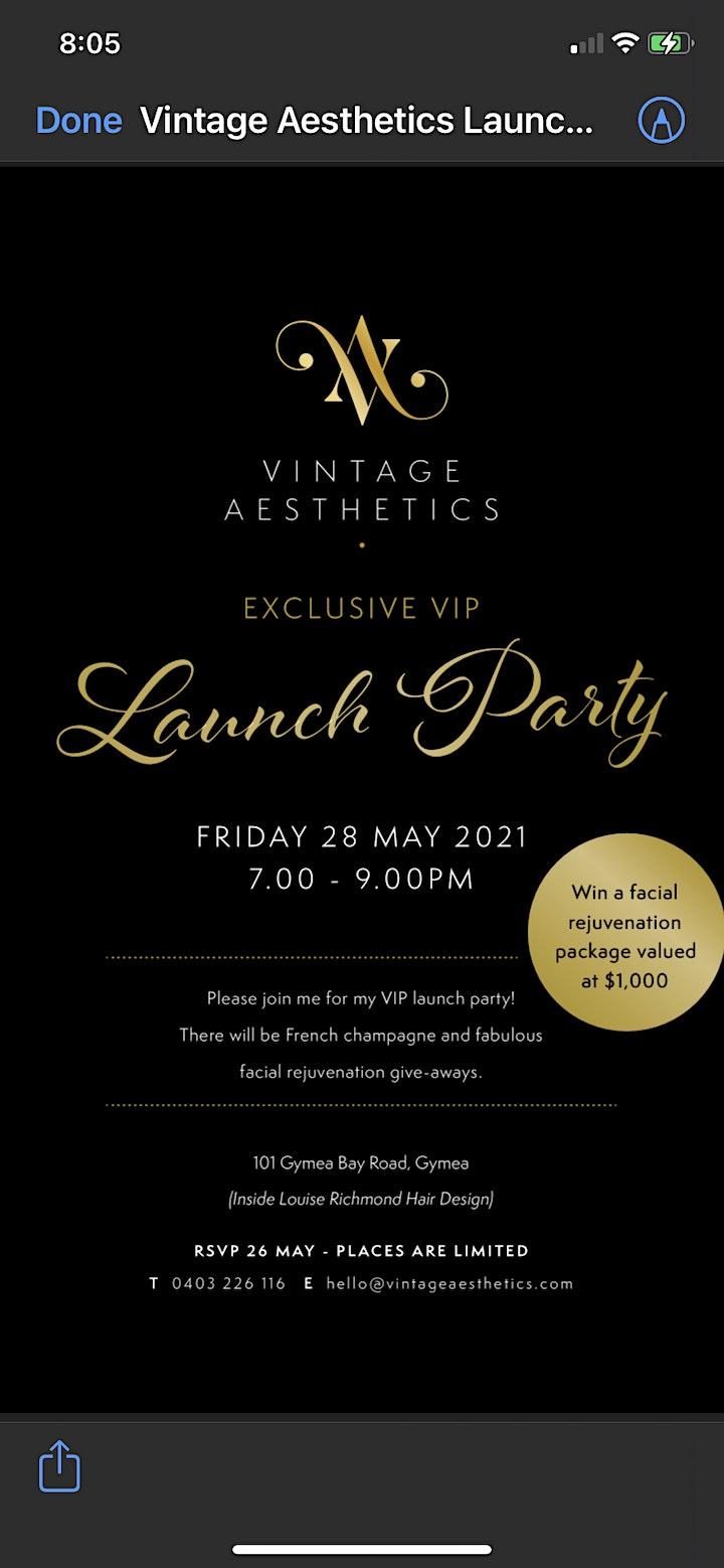 Vintage Aesthetics VIP Launch Party image