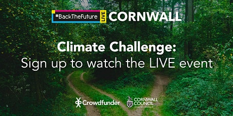 Back The Future Live: Cornwall Climate Challenge tickets