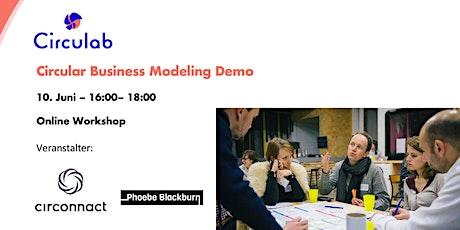 Circular Business Modeling Demo (auf Deutsch) tickets
