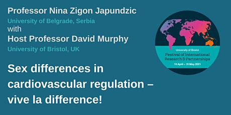 BBMDVP Showcase: Sex differences in cardiovascular regulation tickets