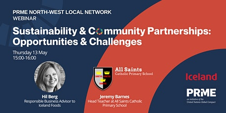Sustainability and Community Partnerships: Opportunities and Challenges tickets