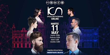 KCN Las Palmas Speed Networking Online 11May entradas