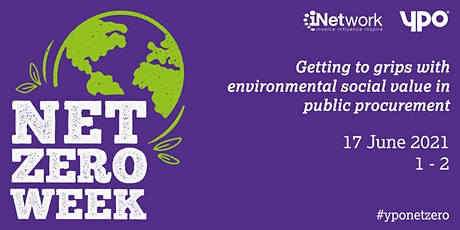Getting to grips with environmental social value in public procurement tickets