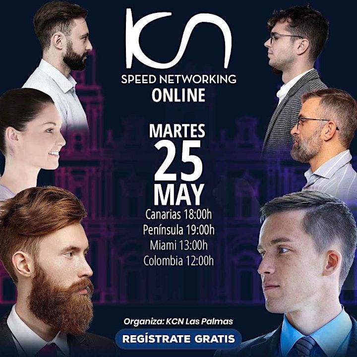 Imagen de KCN Las Palmas Speed Networking Online 25May