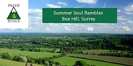 Summer Soul Rambles tickets