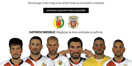 Partido CE L'Hospitalet - SCR Peña Deportiva entradas