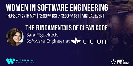 Women in Software Engineering: The Fundamentals of Clean Code tickets