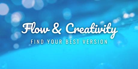 Flow & Creativity - Find your best version tickets