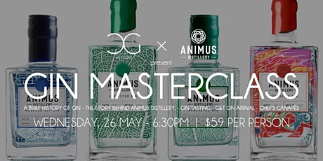 Gin Masterclass - presented by Animus Distillery tickets