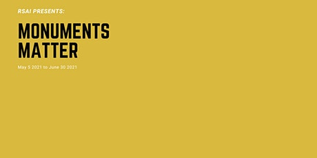 RSAI Monuments Matter Online Series: Panel 4 tickets