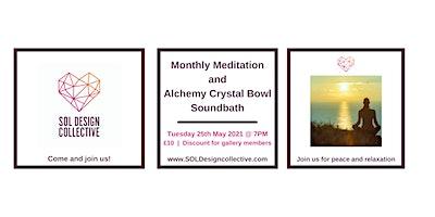 SOL Design Collective: Meditation and Alchemy Crystal Bowl Soundbath