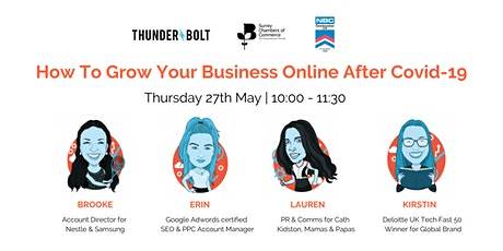 How to Grow Your Business Online After Covid-19 tickets