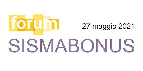 LiVEonWEB  | Sismabonus FORUM biglietti
