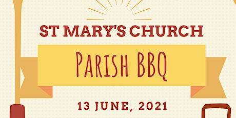 St Mary's Church BBQ- 13th June 2021 tickets