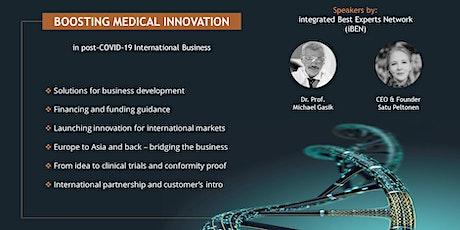 Boosting Medical Innovation tickets