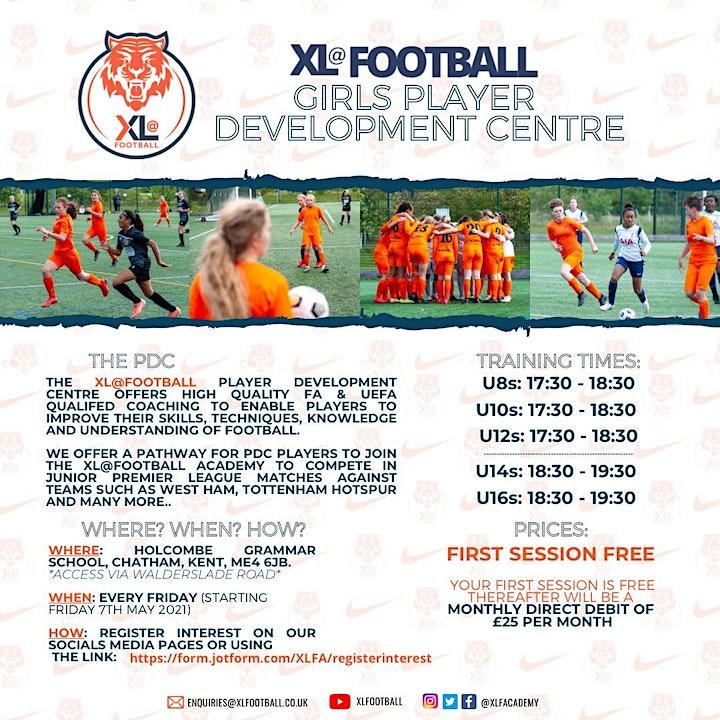 XL@Football Player Development Centre Medway (Girls) image
