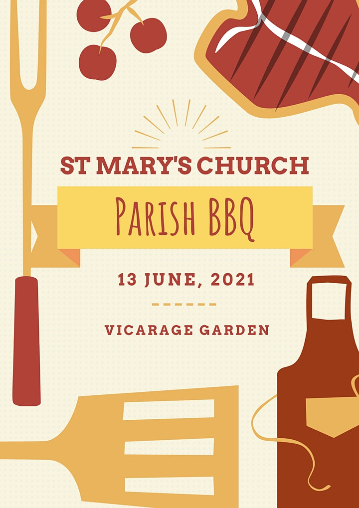 St Mary's Church BBQ- 13th June 2021 image