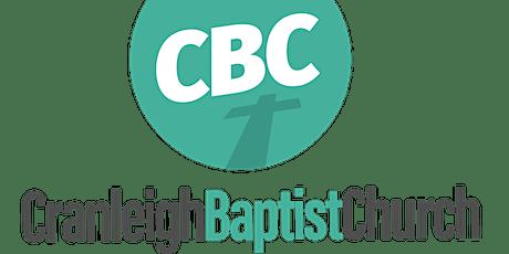 Cranleigh Baptist Church - Morning Service - Sunday 23rd May 2021 tickets