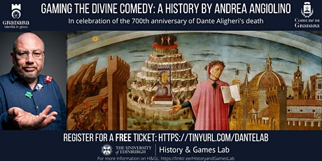 Gaming the Divine Comedy: A History by Andrea Angiolino tickets