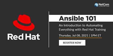 Webinar - An Introduction to Automating Everything with Red Hat Training tickets
