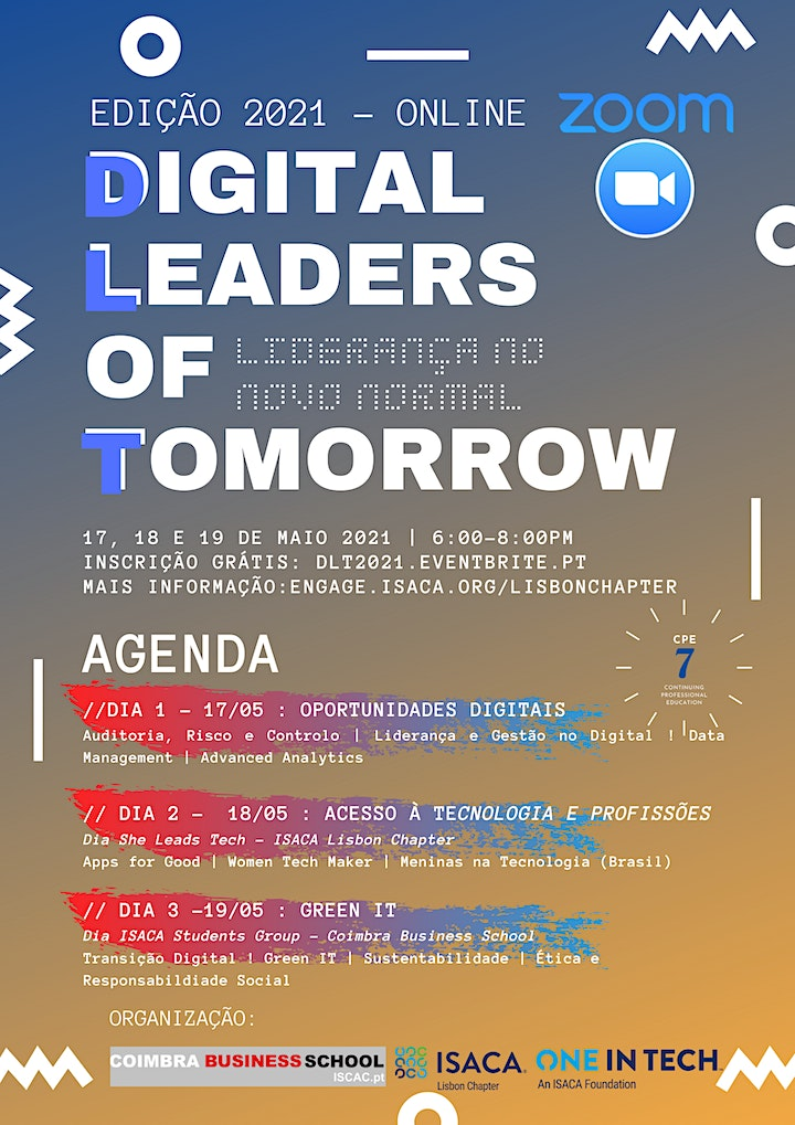 imagem Digital Leaders of Tomorrow 2021