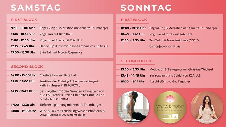 Yoga Retreat – For Moments of Mindfulness by BUNTE.de: Bild