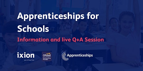 Apprenticeships for Schools - Information Session tickets