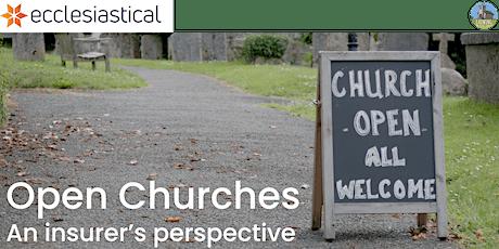 Open Churches - an insurer's perspective tickets