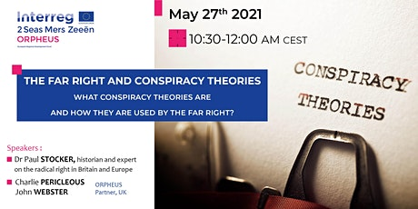 The Far Right and Conspiracy Theories with Dr Paul Stocker tickets