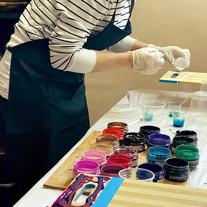 Resin Board Workshop image