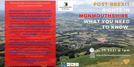 Post-Brexit Rights in monmouthshire: What you need to know tickets