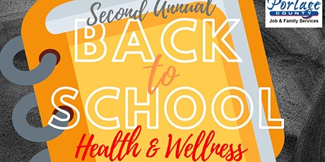 Back to School Health and Wellness Drive Thru Vendor Table tickets