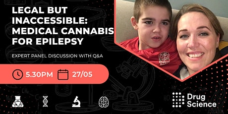 Legal but inaccessible: Medical Cannabis for Epilepsy tickets